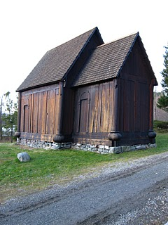 Trond, Norway - example of 15th century church built using rain screen techniques.