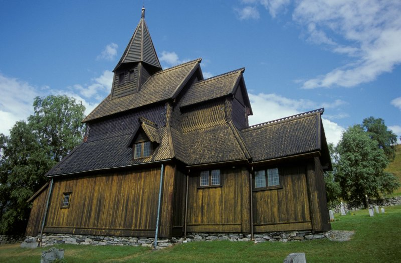 The Urnes Church was constructed in the late 1100's using one of the first Rain Screen systems.