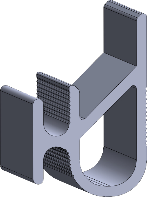 best rain screen clip for exterior hardwood and softwood siding